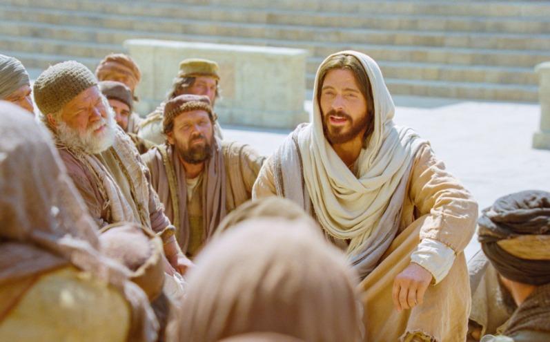 Ісус навчає людей