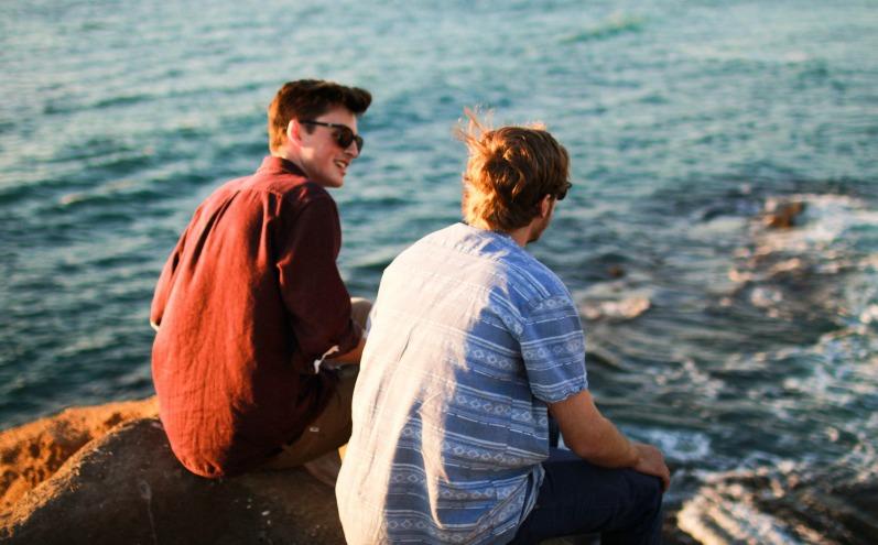 два хлопця, якы є братамми