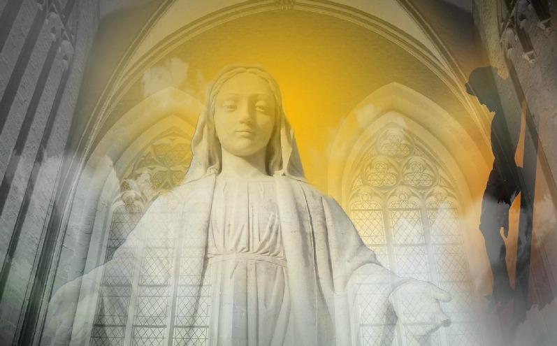 скульптура Матері Божої