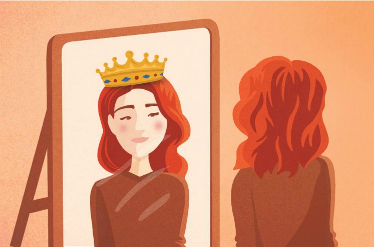 Жінкам, які вважають себе «посередністю»